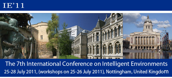 The 7th International Conference on Intelligent Environments 6-8 July 2011, (workshops 5-6 July 2011), Nottingham, United Kingdom